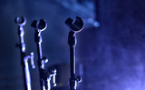 Microphone close-up on stage - 205619083