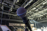 Microphone close-up on stage - 205619204