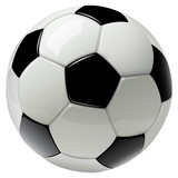soccer ball isolated on white - 205624022