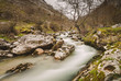 Cares river in Asturias, Spain.