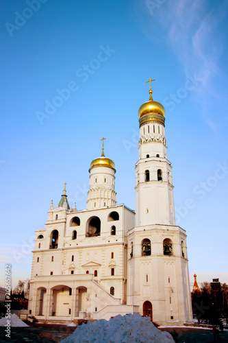 Fotobehang Moskou Photo Bells of Ivan the Great in the Moscow Kremlin