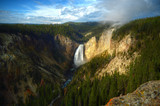 Waterfall in Yellowstone National Park, Wy