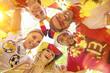 canvas print picture - Fussballfans Deutschland Party