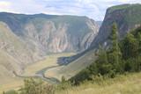 Chulyshman river valley. Altai
