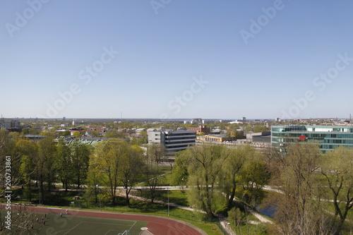 Plexiglas Diepbruine Tallinn - Panorama