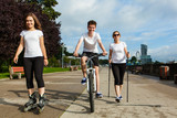 Sport and recreation - people working out  - 205738670