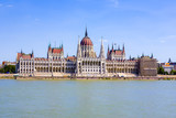 famous Hungarian parliament in Budapest