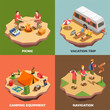 Vacation Trips Design Concept