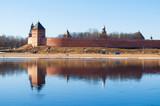 Veliky Novgorod Kremlin fortress at the bank of the Volkhov river in Veliky Novgorod, Russia - 205746821