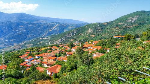 historical greek village