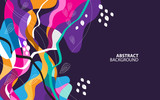 Colorful Abstract Background for print, banner, flyer etc. Vector.