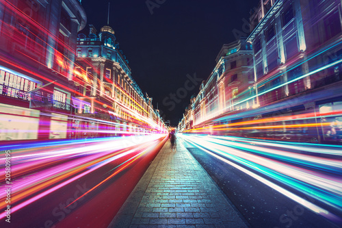 Speed of light in London City  - 205809895