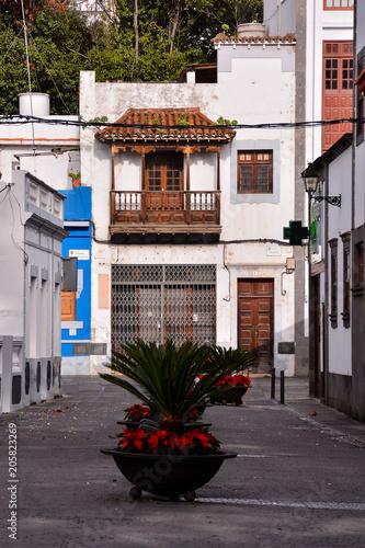 Colored Modern Building Windows in Las Palmas