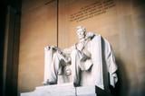 Statue of Abraham Lincoln, Lincoln Memorial, Washington DC - 205824229