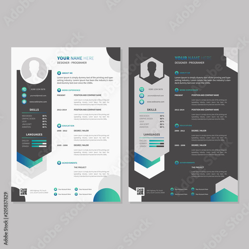 Curriculum Vitae Design Template Buy Photos Ap Images Detailview