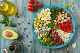 Cobb salad. - 205843674