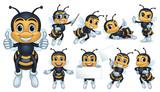 Bee Mascot - 205844424