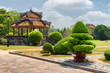 Beautiful view of traditional Vietnamese pavilion in Hue