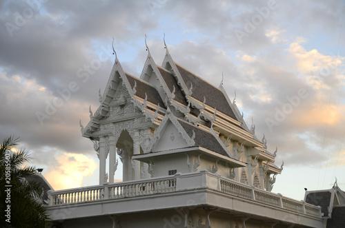 Canvas Boeddha wunderschöne buddhistische Tempel und Buddhas in Südostasien
