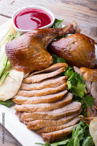 Fototapeta Peking duck dish