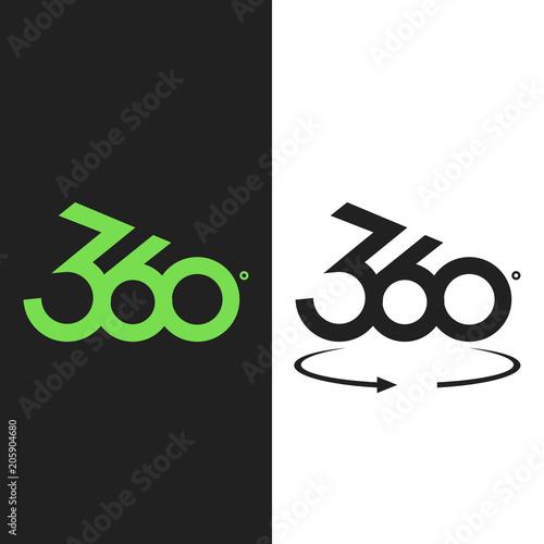 Angle 360 Degrees Sign Icon Geometry Math Symbol Buy Photos Ap