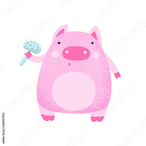 rozowa-swinia-cartoon
