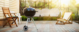 Barbecue Grill in the Open Air. Summer Holidays - 205908434