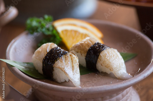 Fotobehang Sushi bar Engawa sushi