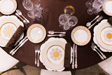 beautifully served table in a restaurant - 205957690