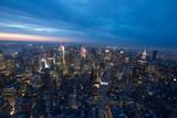New York panorama dall'empire state bilding