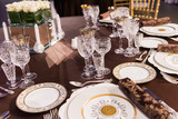 beautifully served table in a restaurant - 205958440