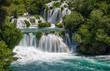 Waterfalls in Krka National Park, Croatia - 205974208