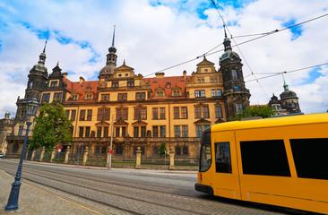 Residenzschloss near Zwinger Dresden Germany