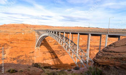Aluminium Oranje eclat Glen Canyon Dam Bridge, Arizona, USA