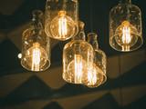 Lighting Interior decoration hanging lamp lightbulb Vintage style - 206010834