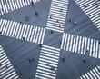 Leinwanddruck Bild - People walking on Crossing city street  crosswalk top view