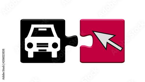 Puzzle Buttons: Auto online suchen