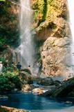 morkfa waterfall in thailand