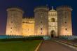 Quadro Night view of Castel Nuovo in Naples, Italy