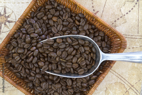 Fototapeta grains de café