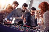 Business people having great time together - 206040257