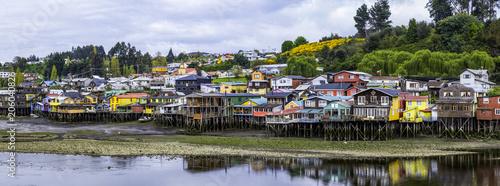 Village flottant - Chiloe - Chili