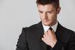 Quadro Close up portrait of a confident young businessman