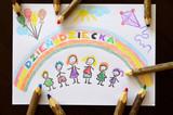 Fototapeta Rainbow - Dzień Dziecka © Pio Si