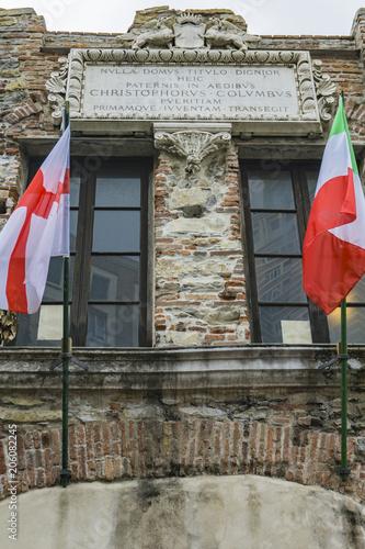 Aluminium Liguria Christopher Columbus House in Genoa, Italy