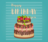 Happy Birthday Card - 206103220