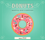 Donuts poster - 206103245