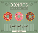Donuts poster - 206103274
