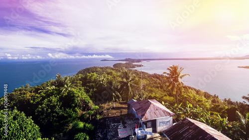 Island and Tropical Sea