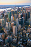 Aerial view over Times Square - 206115029